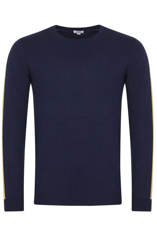 Elm Crew Neck Dark Navy Sweater