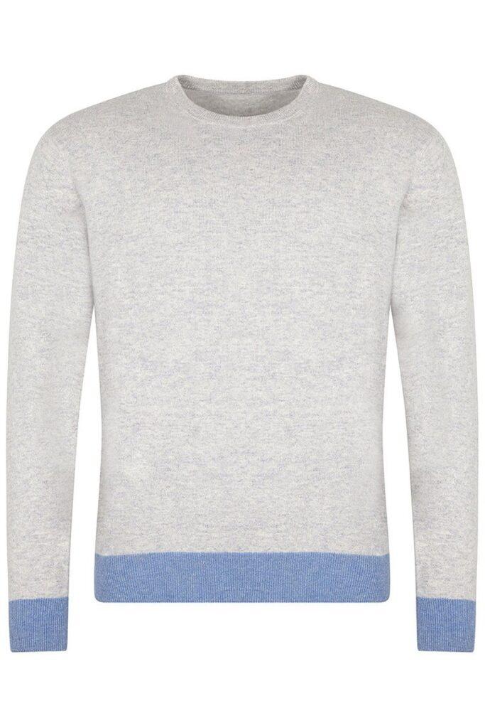Cartmel Crew Neck Soft Grey Sweater