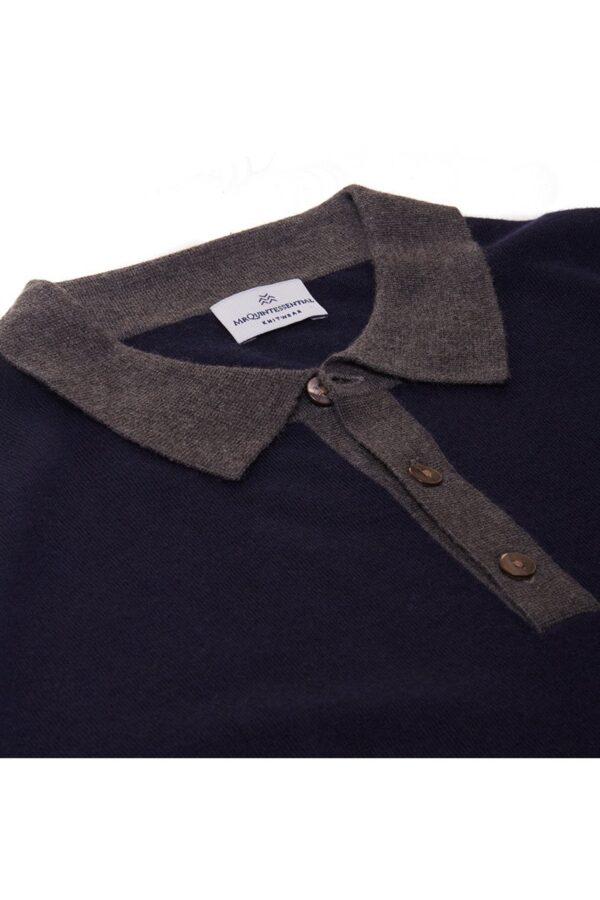 August Polo Shirt Indigo