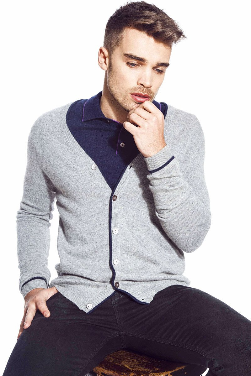 Windsor Cardigan - Light Weight Silk Blend