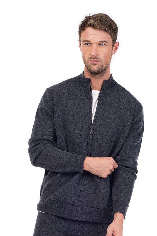 Cashmere blend jacket