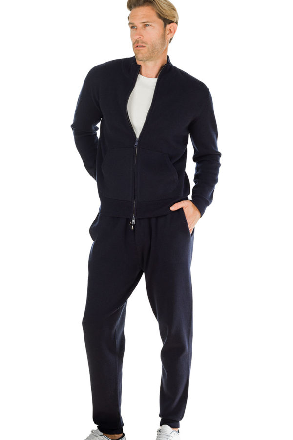 3b5f204b7c54f Squaw Cashmere Blend Sweat Pants – Melange Blue