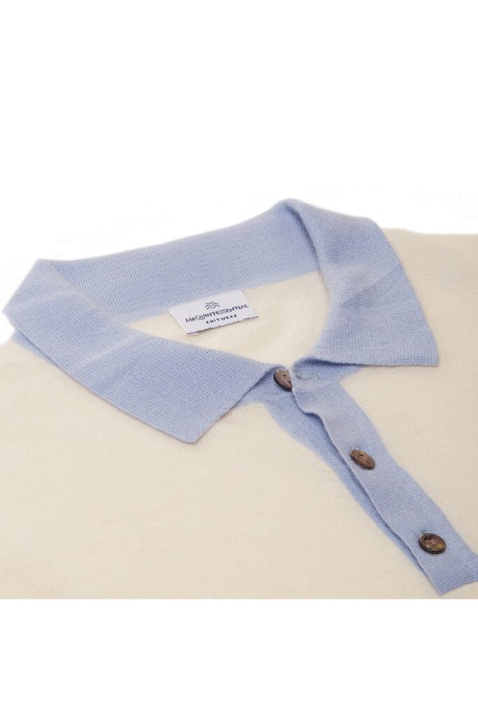 Sol Polo Shirt Ice Blue