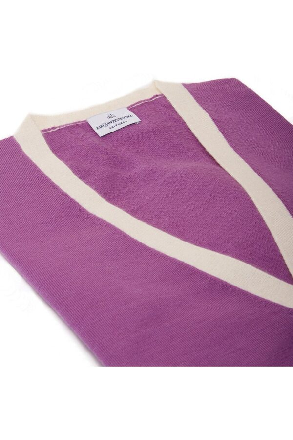 Ocean Cardigan Purple