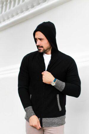 Del Mar Luxe Cashmere Loungewear Hoodie